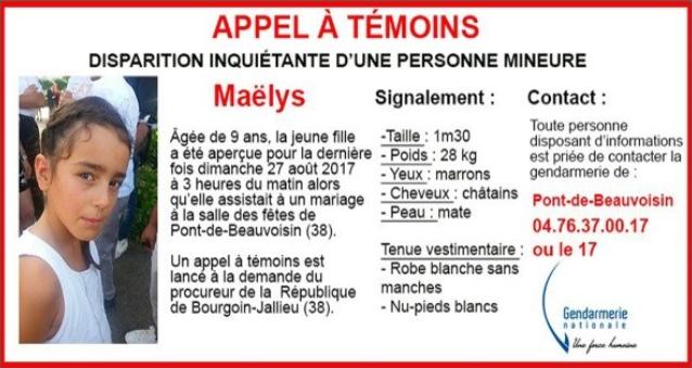 Γαλλία - 9χρονη - εξαφάνιση - γάμος.