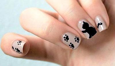 Σχέδια για αποκριάτικα νύχια (4)