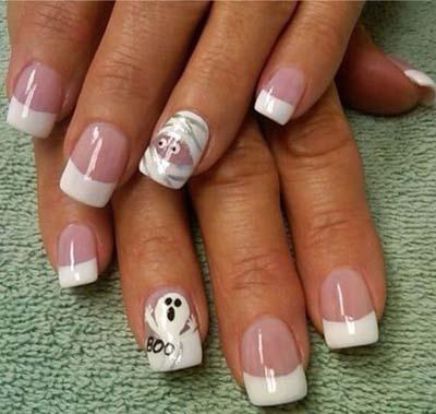 Σχέδια για αποκριάτικα νύχια (24)