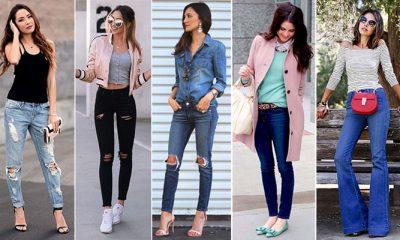 60 τέλειοι συνδυασμοί με τζιν παντελόνι για καθημερινό ή βραδινό ντύσιμο 2a14708e73f