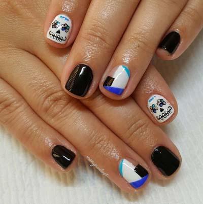 Σχέδια για αποκριάτικα νύχια (12)