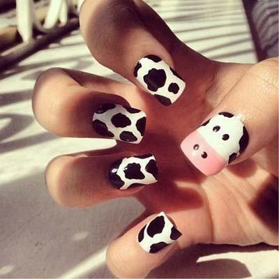 Σχέδια για αποκριάτικα νύχια (9)