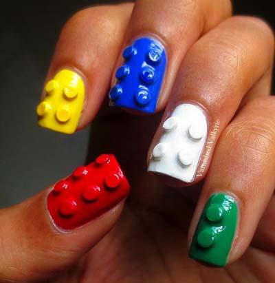 Σχέδια για αποκριάτικα νύχια (2)