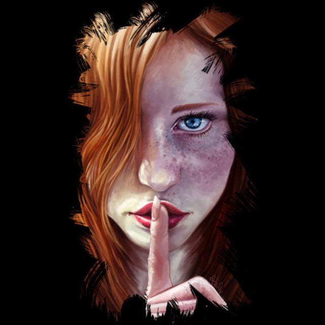 Shhh-T-shirt-Design-by-Jordygraph-design-585×585