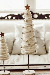μικρά χριστουγεννιάτικα δεντράκια