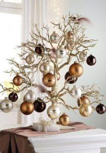 μικρό diy χριστουγεννιάτικο δέντρο