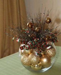 χριστουγεννιάτικο διακοσμητικό για το τραπεζάκι του σαλονιού