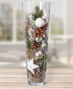 χριστουγεννιάτικο βάζο